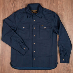 Pike Brothers 1943 CPO Shirt Hamburg blue