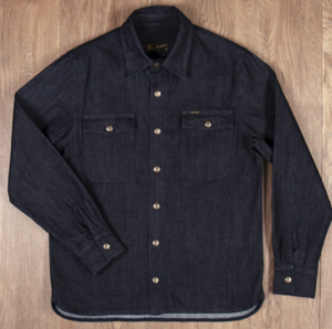 1943 CPO Shirt 12oz indigo