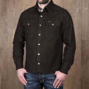 1943 CPO Shirt Moleskin soil brown