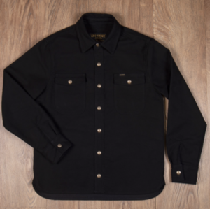Pike Brothers 1943 CPO Shirt Moleskin sulphur black