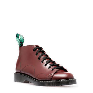 SOLOVAIR OXBLOOD MONKEY BOOT